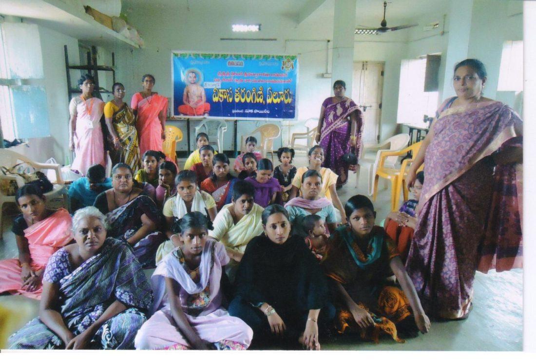 Vikasa Tarangini Eluru Distributed Free Food Clothes Ujwala Home