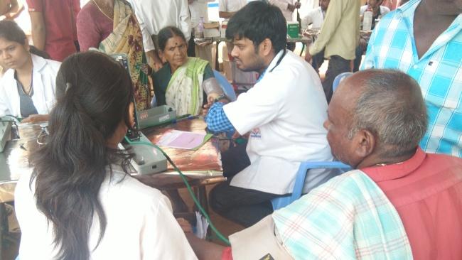 VT Conducted Cancer Awareness Camp At Konaraopet Siricilla District