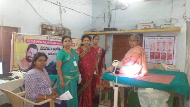 Viaksa Tarangini Free Medical camp conducted at Krishna Bhavan Gudimalkapur