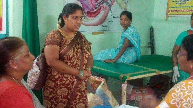 Sitanagaram 2017 Free Women Health Caremedical camp