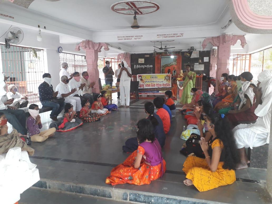 Prajna summer camp Karimnagar 3