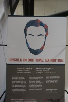 Lincoln in Our Time Exhibit
