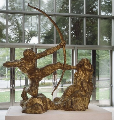 Herakles the Archer by Antoine-Émile Bourdelle from The Metropolitan Museum of Art