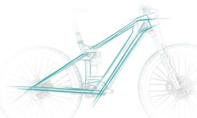 Sans batterie apparente, retour aux sources des lignes qui font le dynamisme d'un vélo : tube oblique, supérieur, bases et haubans > avec un maximum de sloping.