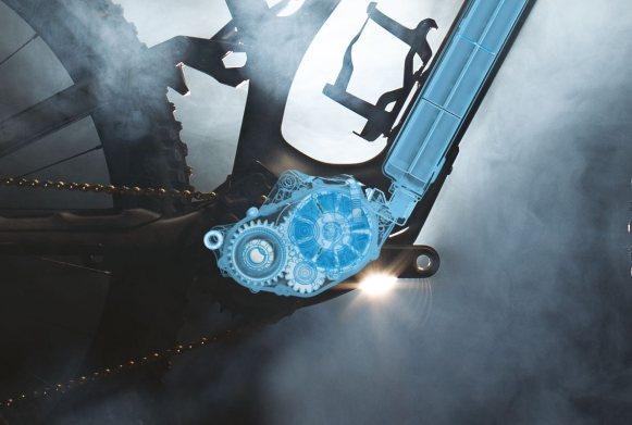vs l'intégration de l'ensemble moteur/batterie Turbo SL qui équipe le Levo SL...