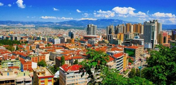 Bursa từ trên cao