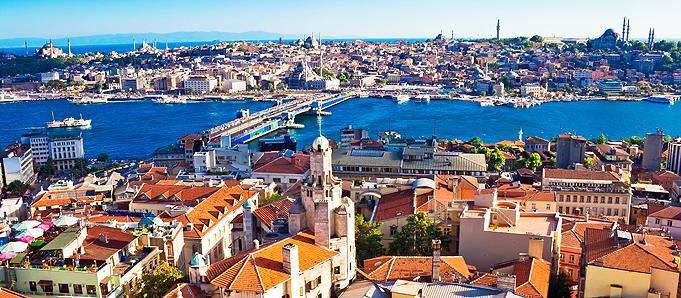 Thành phố xinh đẹp Istanbul là điểm đến cực kì hấp dẫn