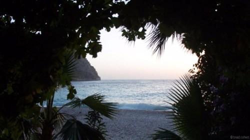 góc nhìn ra biển
