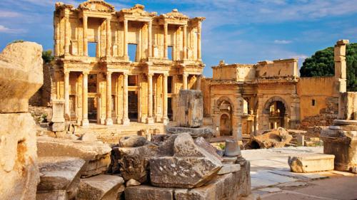 thư viện của celsus - joymark travel - turkey - thổ nhĩ kỳ