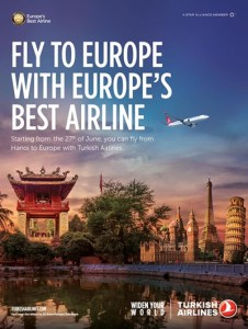 quản cáo của turkish airlines