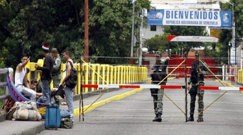 Paso fronterizo con Colombia (Archivo agencias)