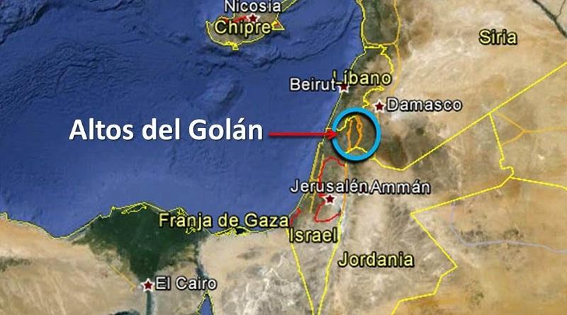 Resultado de imagen para ALTOS DEL GOLAN