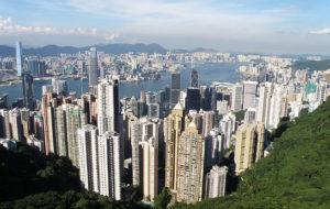 香港島鳥瞰。(Exploringlife╱維基百科)