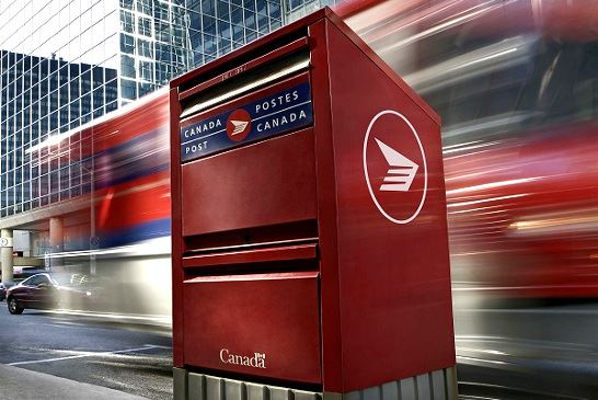 圖:加拿大郵政局7月5日早上向加拿大郵務工人工會發出72小時停工令。(Canada Post)