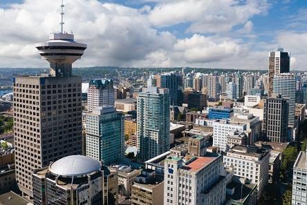 圖:溫哥華市長羅品信認為溫市出租房仍處於危機水平,新措施將可增加長租單位數量。圖為溫哥華市中心。(iStock)