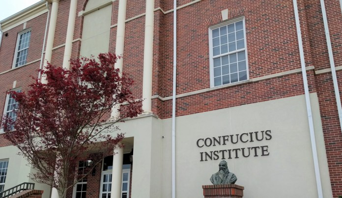 Confucius Institutes claim to be aimed at teaching Chinese language and culture, but instead propagate the Chinese Communist Party's ideology