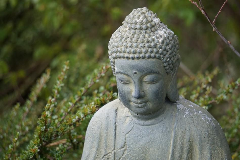The Buddha school believes that anger, negative feelings, and words produce karma, a black substance. (Image: via pixabay / CC0 1.0)