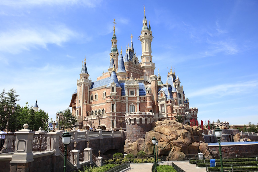 Disney has partnered with state-owned Shanghai Shendi Group for the Shanghai Disneyland Park pictured above. Shanghai Shendi Group has controlling shares of the park which opened in 2016. (Image: Pixabay.com)