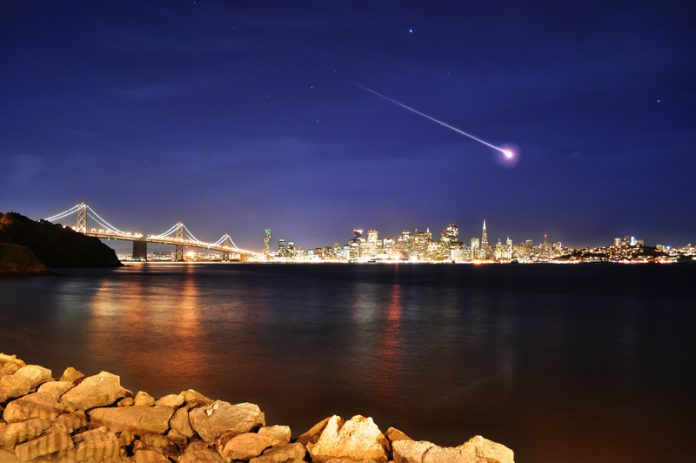 Shooting Star or meteorite, the difference is vast depending on our point of view.