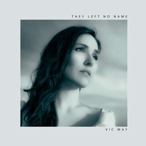 they left no name single cover black and white photo of vic may looking thoughtful into distance