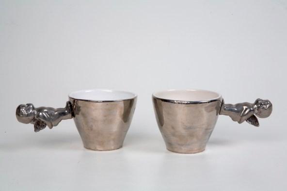 Engla bollar - Angel Cups, ceramic, keramík hönnun