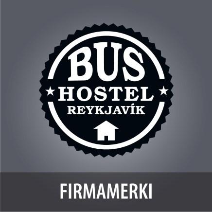 Firmamerki fyrir Bus Hostel Reykjavík