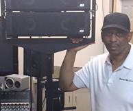 Rick Camp & Vue AL4 speakers @ MML 2015-1