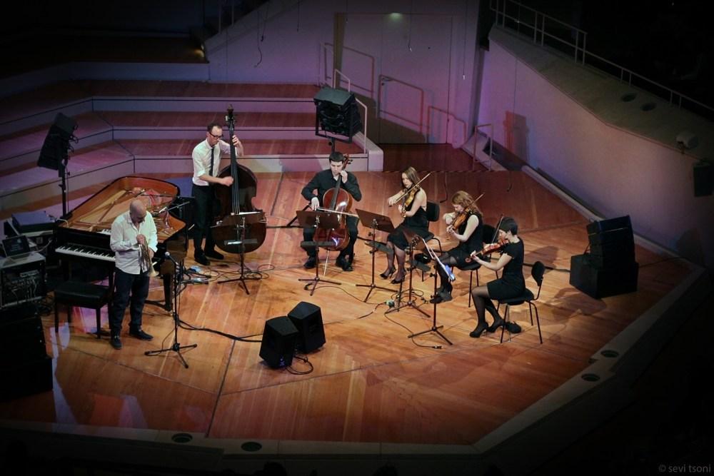 1,100-seat Berlin Kammermusiksaal, the full Sebastian Studnitzky 'MEMENTO' experience