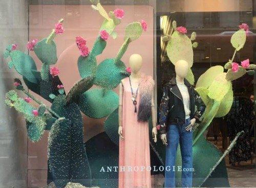 Anthropologie, anthropologie storefront, anthropologie window display, Vue45, Retail, Visual Merchandising, How To Create Window Displays, Best Window Displays, Beautiful window displays, beautiful store fronts, beautiful storefronts, best storefronts, how to create storefront, storefront design, brand new vue