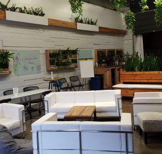 inspiring meeting, soft seating, energetic space