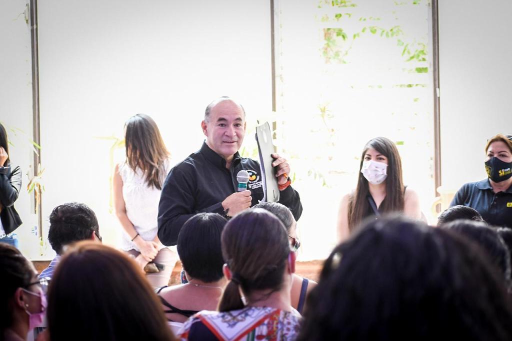 Cero tolerancia a la violencia contra las mujeres, se compromete Enrique Galindo