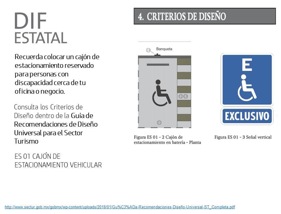 Se promueve el derecho a la accesibilidad de las personas con discapacidad