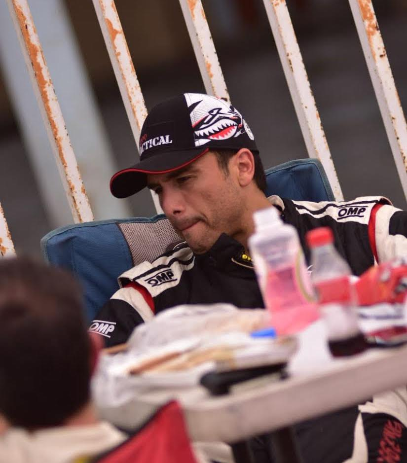 El piloto potosino Ricardo Cordero se muestra entusiasmado por correr en casa