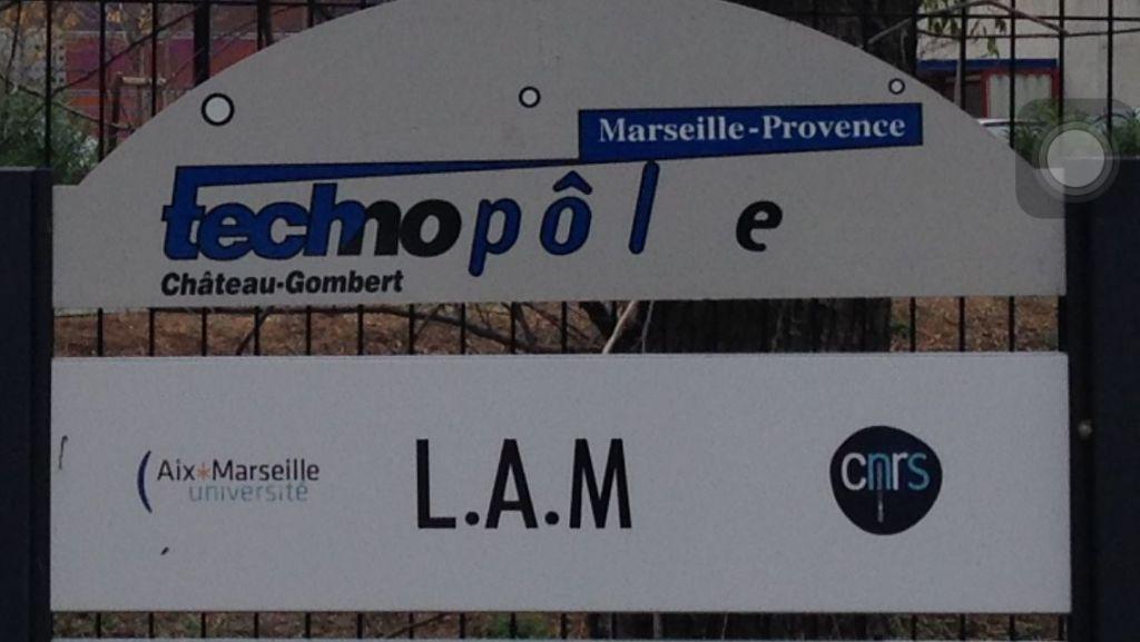 Laboratoire d'Astrophysique de Marseille (UMR7326 - CNRS-INSU, Université d'Aix-Marseille) - 1