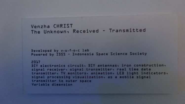The Unknown , Received - Transmitted - 7