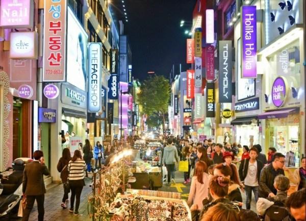 Myeongdong-Street-Seoul