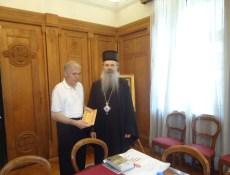 Ljubomir Milutinović i Vladika Teodosije