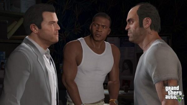 Grand Theft Auto V main characters