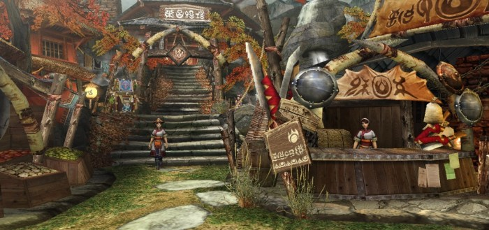 Monster Hunter Portable 3rd starting village