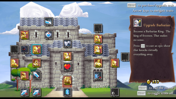 Rogue Legacy castle upgrades