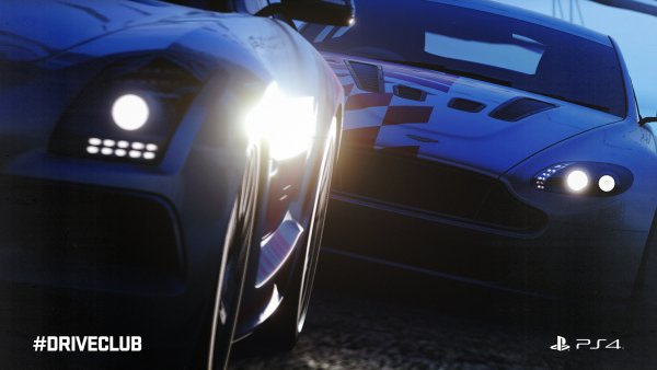 Driveclub sexy blue cars