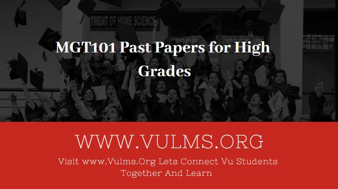 mgt101 past papers