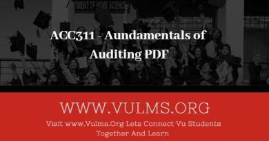 Aundamentals of Auditing PDF