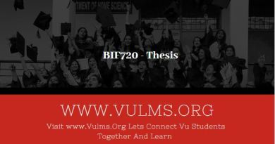 BIF720 - Thesis