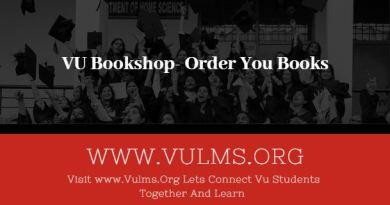 VU Bookshop