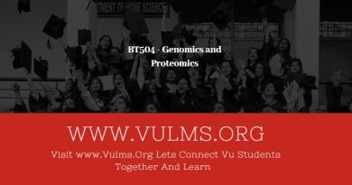 BT504 - Genomics and Proteomics