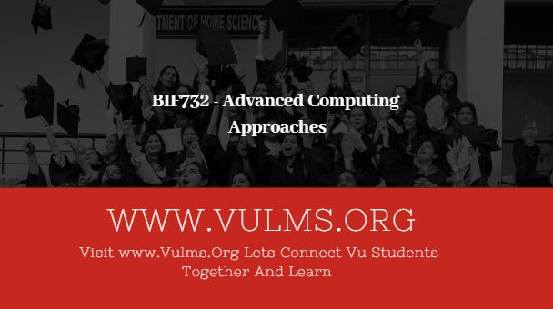 BIF732 - Advanced Computing Approaches
