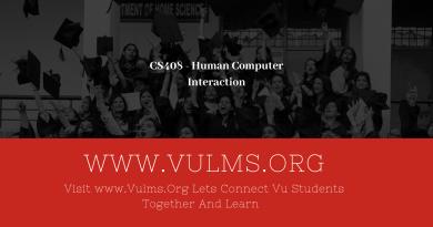 CS408 - Human Computer Interaction