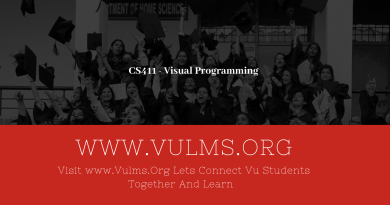 CS411 - Visual Programming