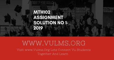 Mth102 Assignment Solution no 1-2019 Read more https://vulms.org/blog/mth102-assignment-solution-no-1-2019/